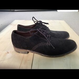 Vintage brand suede shoes made in USA